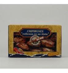 Chipirones rellenos en su tinta Conservas Remo 115 grs.