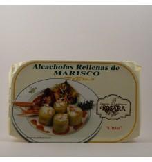 Alcachofas  rellenas de marisco Rosara lata 400 grs.