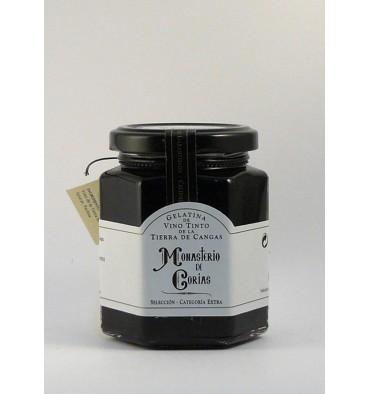 Gelatina de vi negre Monestir de Corias 225 grs.