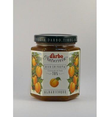 D'arbo confiture d'abricot 200 g.