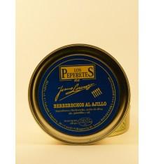 Berberechos al ajillo los Peperetes 120 grs.