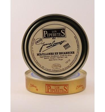 Mejillones en escabeche los Peperetes 150 grs.