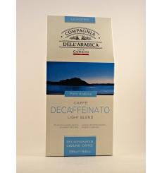 Reine Arabica-Kaffee Dell'Arabica Descaffeinato 250 grs.