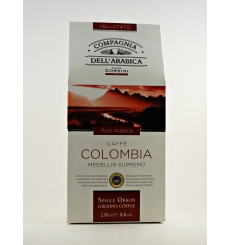 Medellin Colombie Supremo Café Dell'Arabica 250 grs.