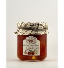 Pimientos cherry rellenos de queso Rosara 200 grs.