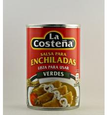 Salsa para enchiladas verdes La Costeña 420 grs.