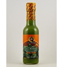 Salsa de chile habanero picante verde La Extra 140 grs.