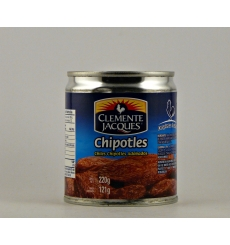 Chiles chipotles adobados Clemente Jacques 220 grs.