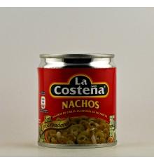 Nachos de Chiles Jalapeños en escabeche La Costeña 220 grs.