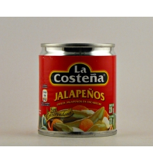 Pickled Jalapeno Peppers The Coastal 220 grs.
